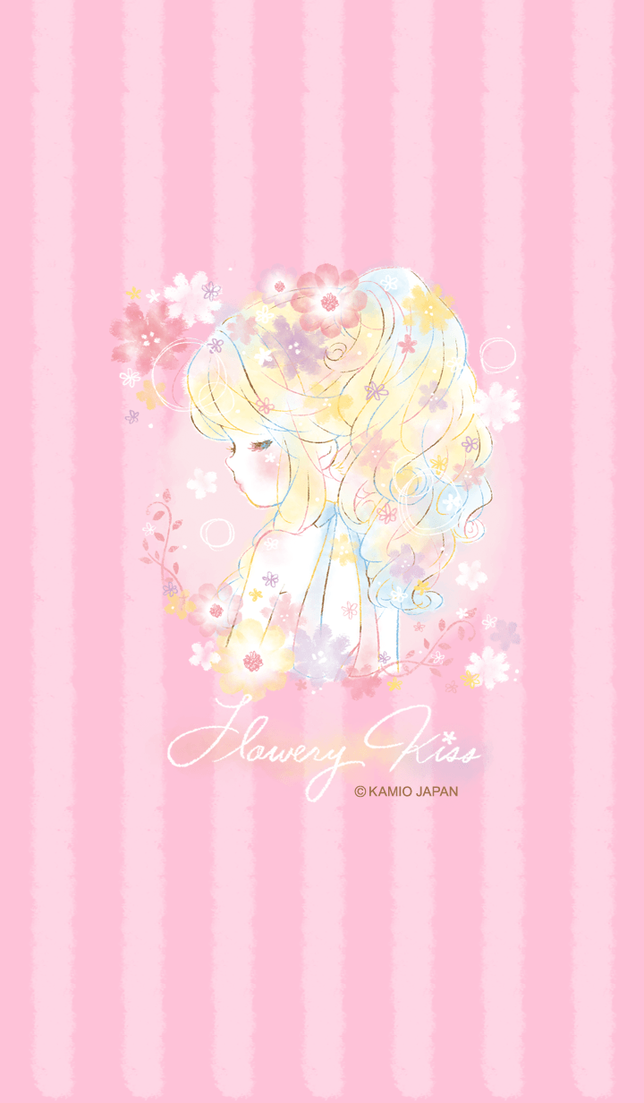 Flowerykiss Became The Theme Anime Artwork Wallpaper Cute Cartoon Wallpapers Backgrounds Girly