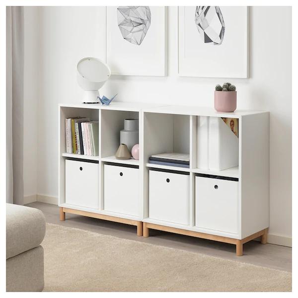 Kuggis Sailytyslaatikko Valkoinen Ikea In 2020 White Storage Box Ikea Storage Eket