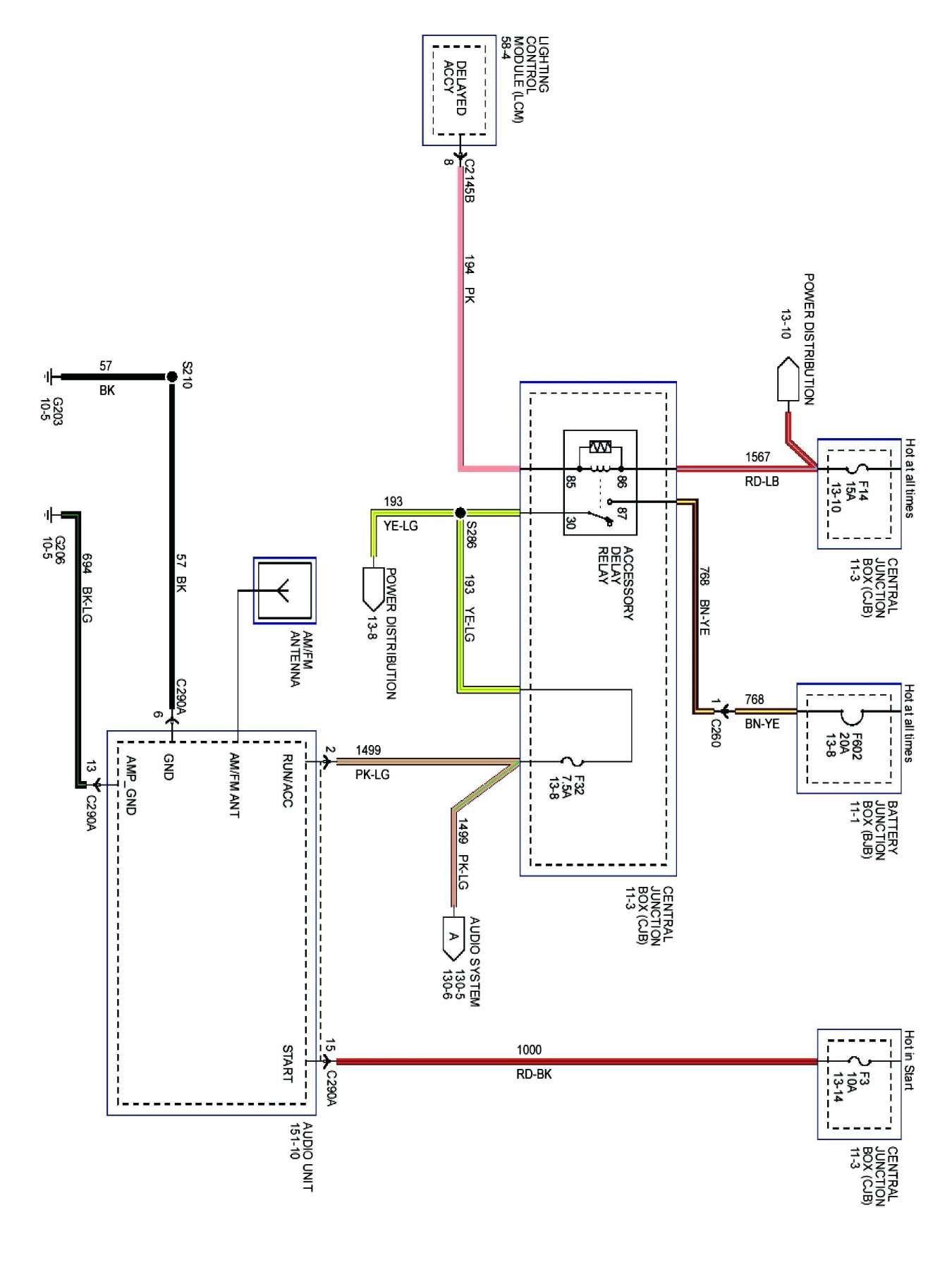 12 Lincoln Town Car Wiring Diagram
