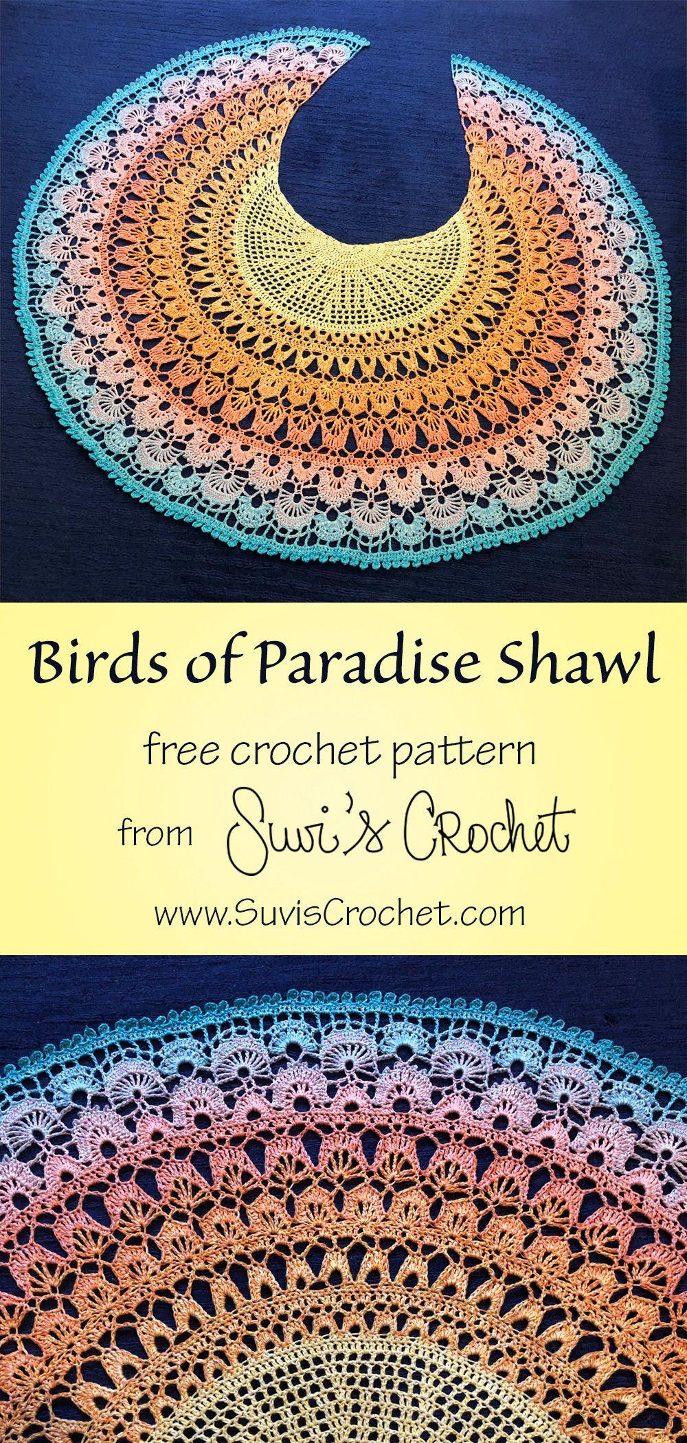 Birds of Paradise Shawl