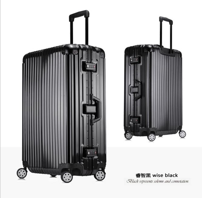 Girls Large Capacity Travel Suitcases Men Business Travelling Luggage Women  Waterproof Spinner Trolley Suitcase 4 size de8842bbf
