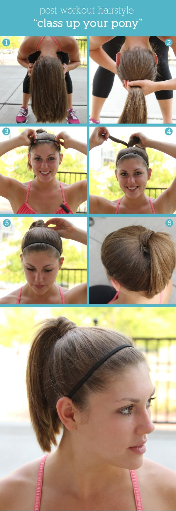 Classic high pony hurr pinterest post workout hair workout