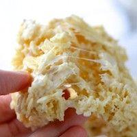 Ruffles Marshmallow Krispie Treats - sweet, salty and yummy!