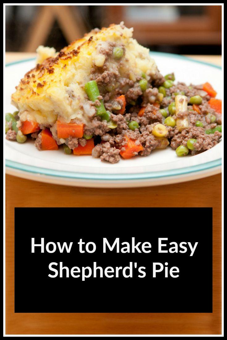 How To Make An Easy Shepherd S Pie Recipe Mom In The City Recipe Shepherds Pie Recipe Easy Shepherds Pie Recipe Shepherds Pie