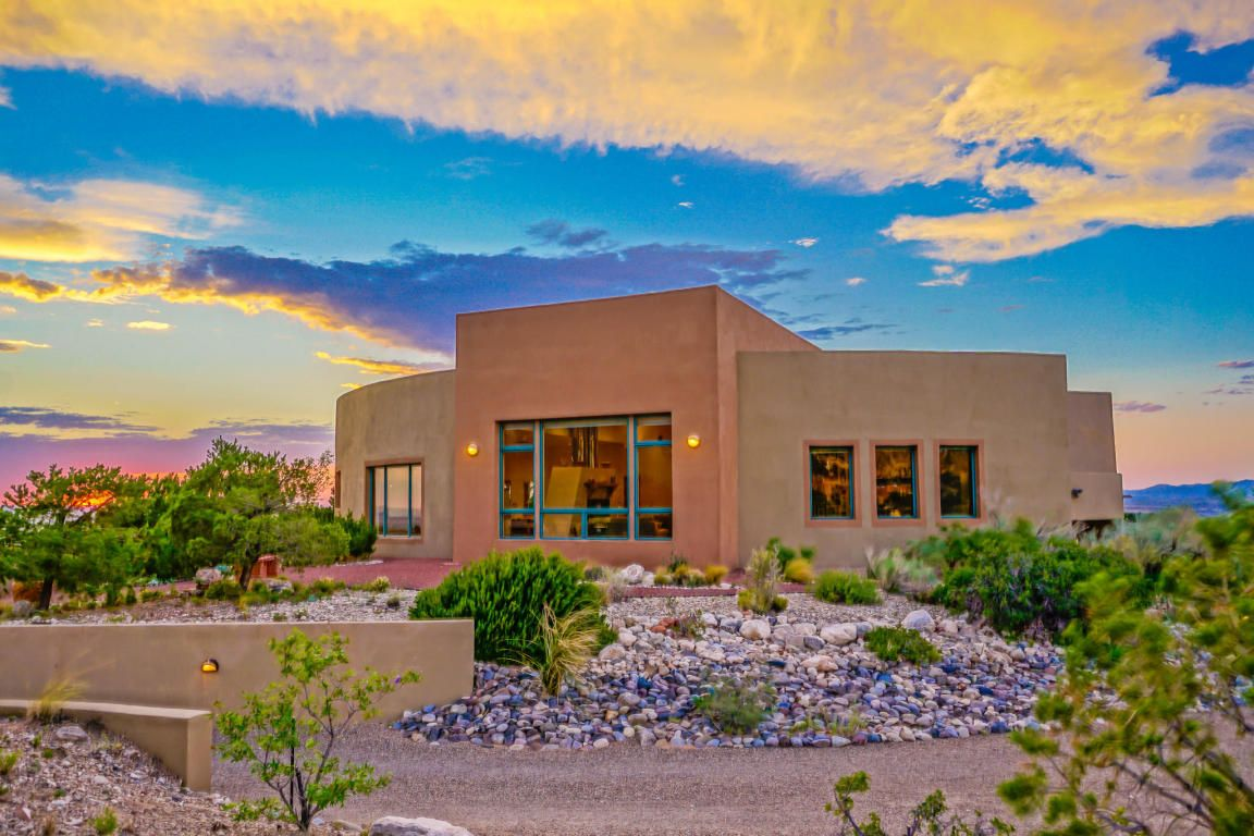 1 Cielo Grande Drive Placitas New Mexico 87043 Welcome To Your Placitas Dream Home Private 3 23 Ac Lot Amp Double Sided Fireplace Realty Contemporary House