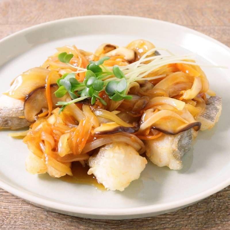 タラの甘酢あんかけ 作り方 レシピ クラシル レシピ レシピ 料理 レシピ 料理