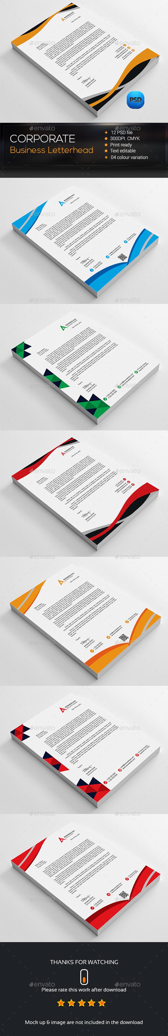 100 Business Letterheads Templates