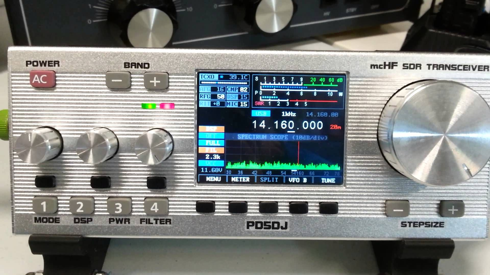 QSO AE2B - PD5DJ/QRP with MCHF SDR Transceiver | Hamshack