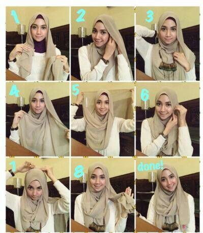 tutoriel hijab pour collier quick easy hijab tutorial tuto tutoriel hijab inspiration. Black Bedroom Furniture Sets. Home Design Ideas