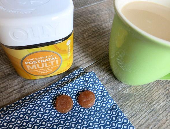 coffee and postnatal vitamins