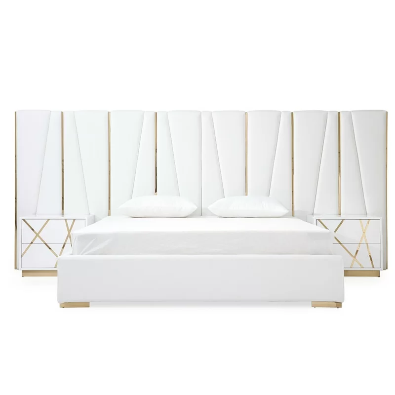 Foti King Upholstered Platform Bed Upholstered Platform Bed
