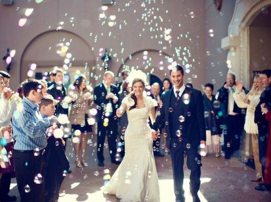 Sendoff With Bubbles Wedding Bubbles Wedding Send Off Cheap Wedding Decorations