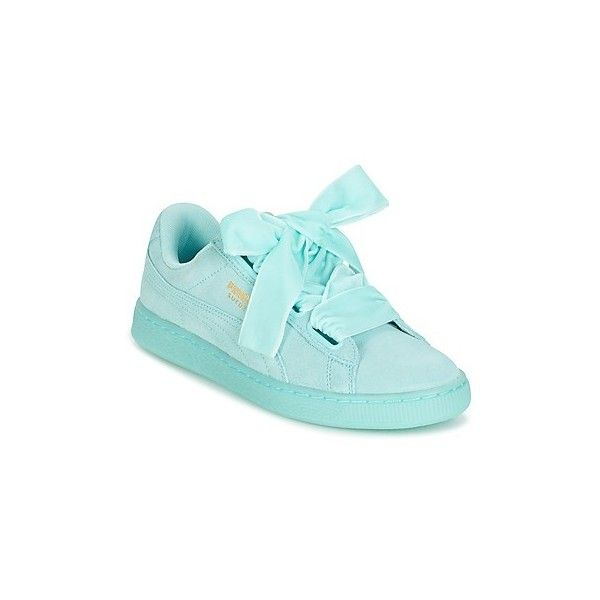 Puma WNS SUEDE HEART RESET.BLUE Shoes (Trainers) (£80