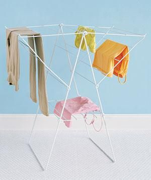Surprising College Essential A Foldable Drying Rack Doesnt Take Up
