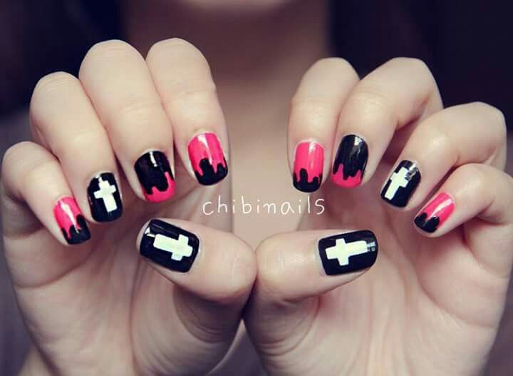 Pin by sukhpreet on a nailzz pinterest explore cross nail art cross nails and more prinsesfo Gallery