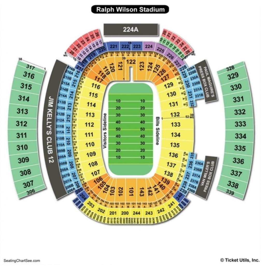 New Era Field Seating Chart Seating Charts Tickets Pertaining To The Elegant Along With Attractive New Era Seating Chart Newerafielddetailedseatingchart Newe Di 2020