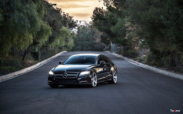 Black Mercedes Benz Cls550 Mercedes Benz Wallpaper Black