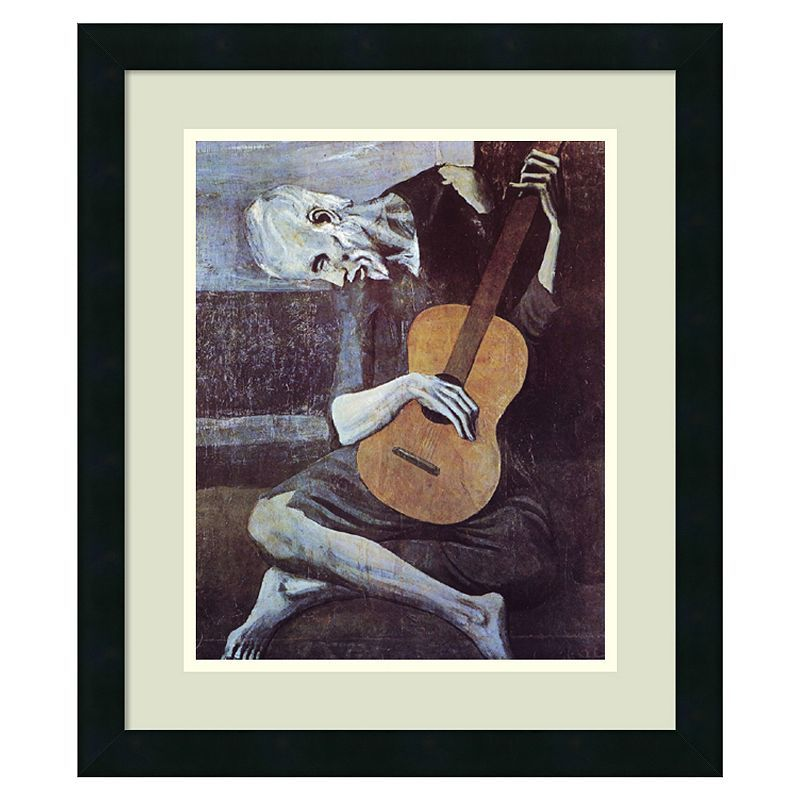 The Old Guitarist 1903 Giclee Canvas Print