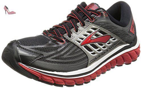 Brooks Glycerin 14, Chaussures de Running Homme, Gris  (Black/Highriskred/Anthracite