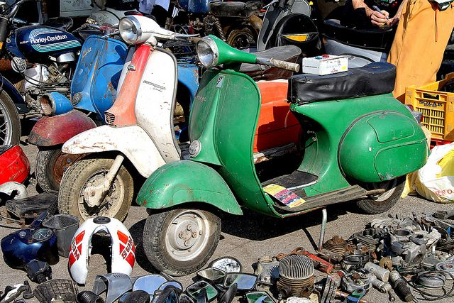 Old Scooters Lambretta E Vespa Fair Exchange For Used Vehicles