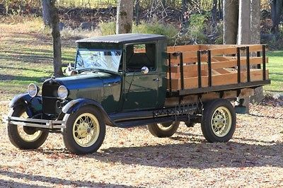 Ford Model A 2 Door Truck Trucks Vintage Cars Old Ford Trucks