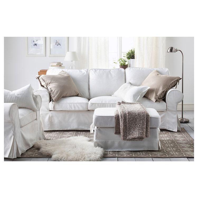 Https Www Ikea Com Us En Images Products Ektorp 3 5 Seat Sofa 0739095 Ph121971 S5 Jpg F L In 2020 Ektorp Living Room Living Room White Ektorp Sofa