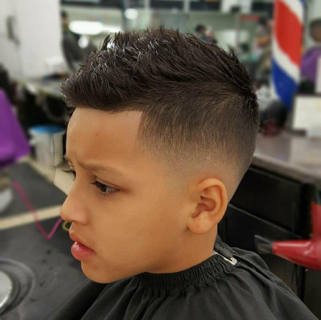 Pin By Patty Rivera On Boy Haircuts Kids Fade Haircut Boys Fade