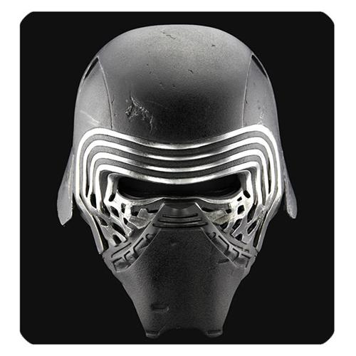 Star Wars The Force Awakens Kylo Ren Helmet Premier Line Accessory Prop Replica Kylo Ren Helmet Star Wars Kylo Ren Kylo Ren