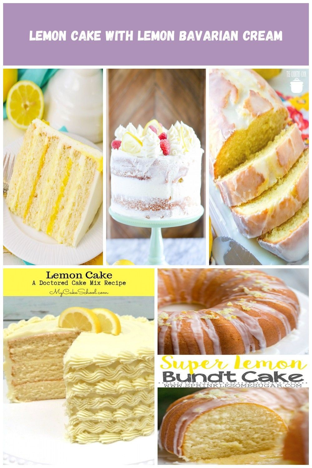 This easy lemon cake recipe makes a moist cake with alternating layers of lemon bavarian cream, and lemon curd filling with lemon buttercream! Yum! lemon cake Lemon Cake with Lemon Bavarian Cream #lemonbuttercream This easy lemon cake recipe makes a moist cake with alternating layers of lemon bavarian cream, and lemon curd filling with lemon buttercream! Yum! lemon cake Lemon Cake with Lemon Bavarian Cream #lemonbuttercream