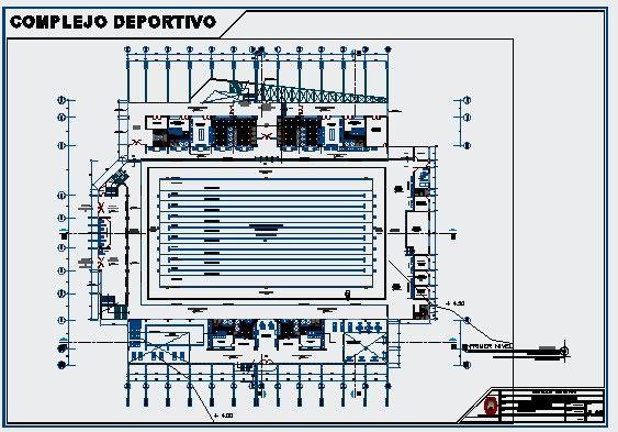 Descarga plano detalle de plantas de piscina ol mpica for Planos de albercas