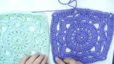 Photo of Crochet square for beginner