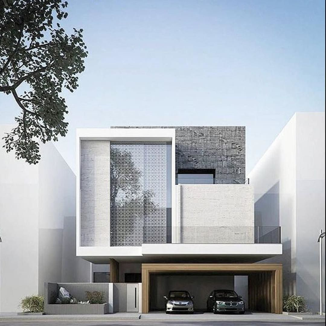 Pin By Mohamed O On Modern Villas: Modern House Design