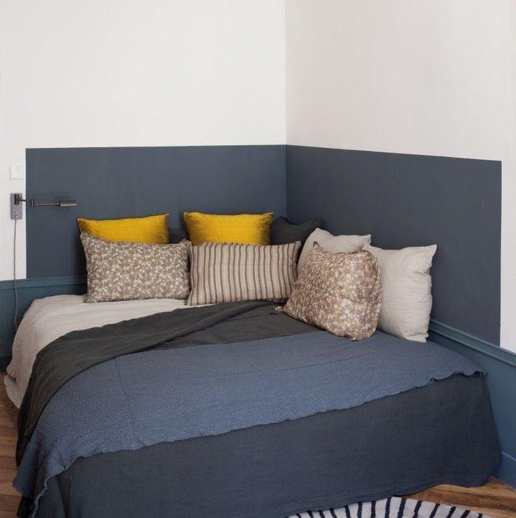 chambre couple feng shui t te de lit pinterest chambre deco et maison. Black Bedroom Furniture Sets. Home Design Ideas