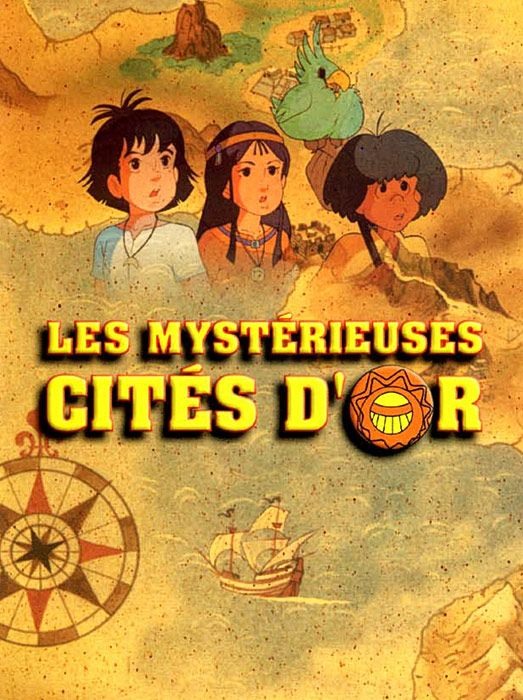 Les Mystérieuses cités d'Or Esteban, Zia et Tao