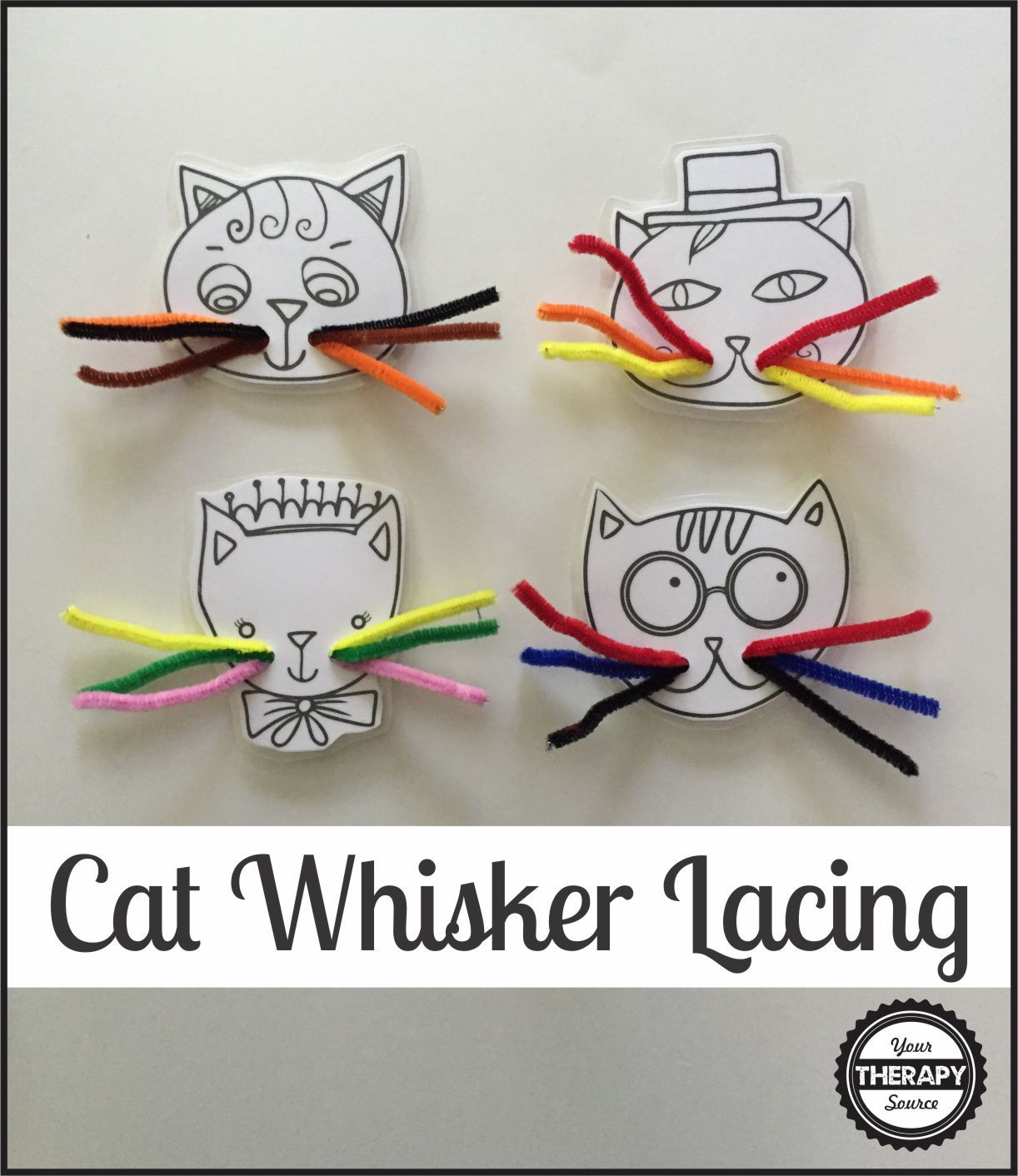 Cat S Whiskers Lacing Busy Bag