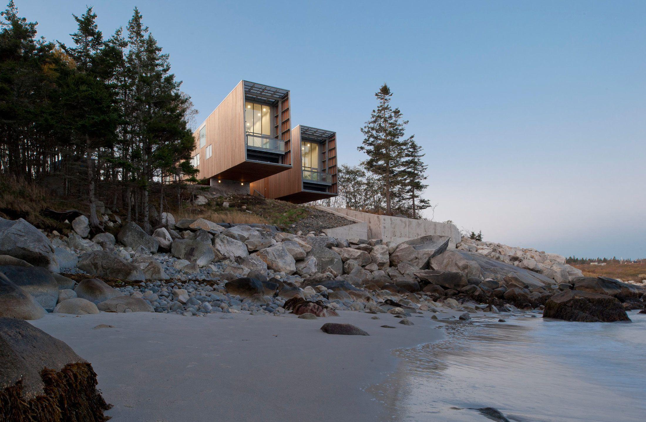 The Two Hulls House In Nova Scotia, Canada