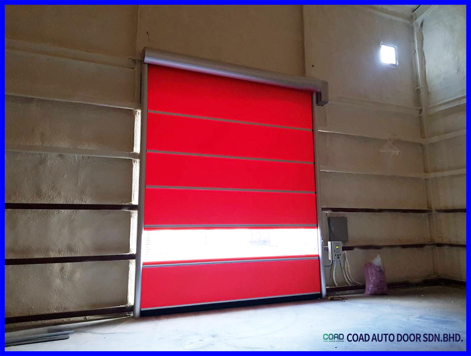 Premium Quality Material Used By Coad High Speed Door Doors Sater Automatic Door