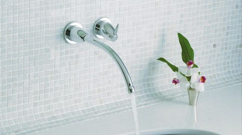 KOHLER | Falling Water® | Sink Faucets | Bathroom Faucets | Bathroom ...