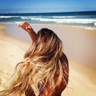 Beach Blonde Hair | via Tumblr | coiffures et coupes | Pinterest ...