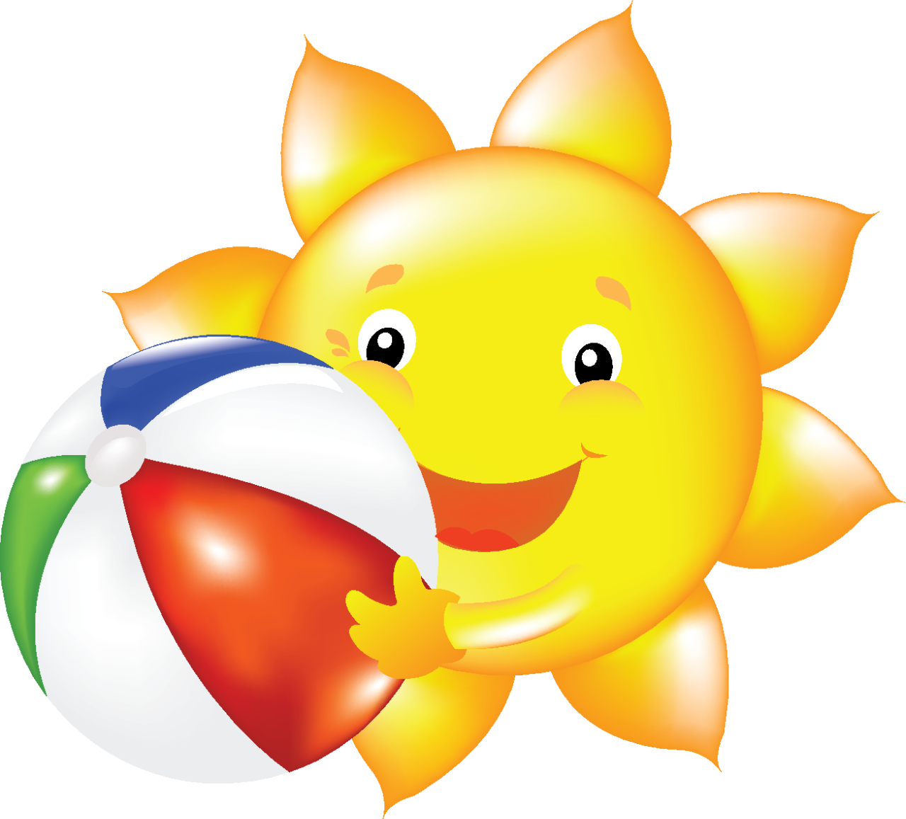 summer sun clip art [ 1280 x 1157 Pixel ]