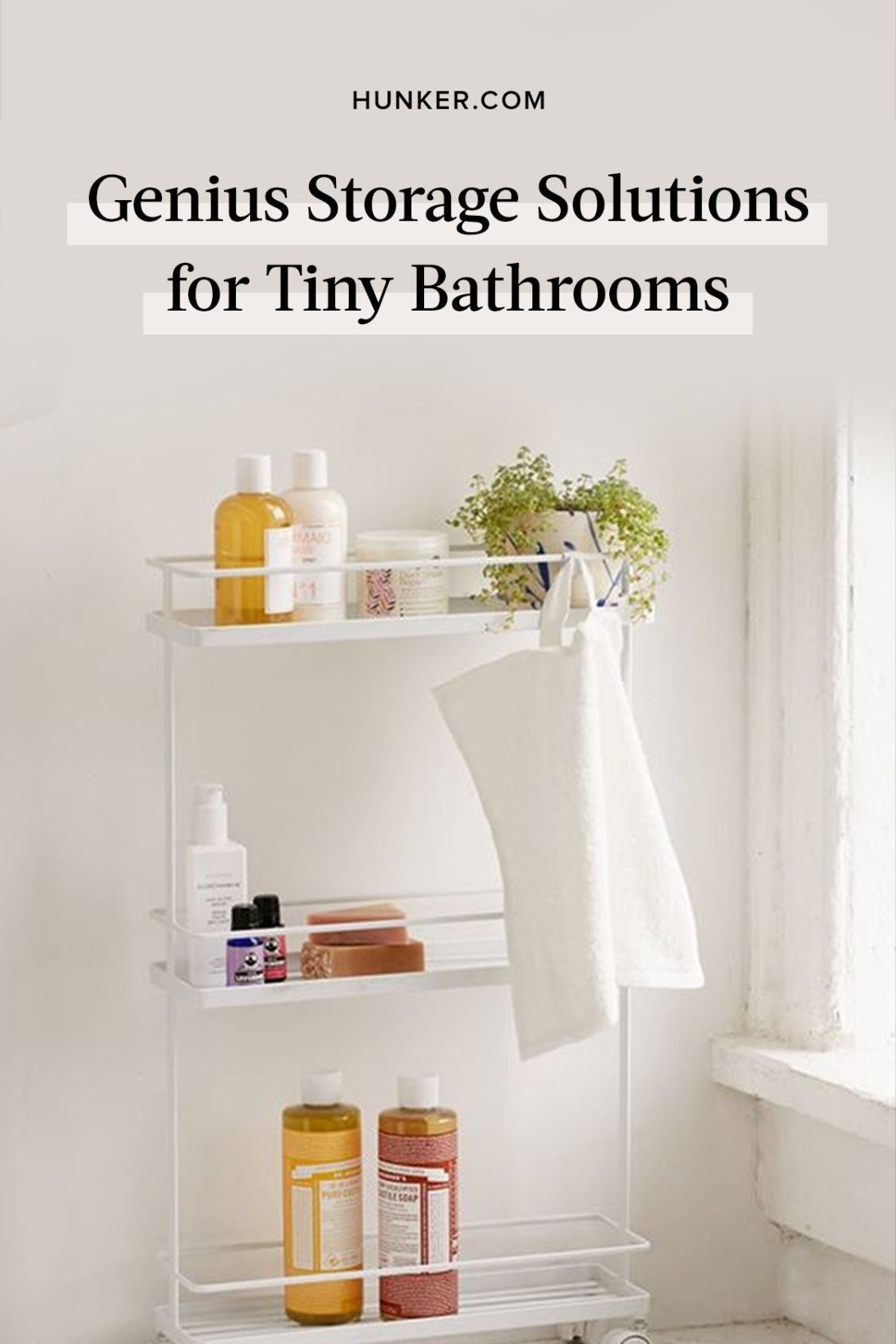 12 Storage Ideas When You Have a Small Bathroom | Small ...