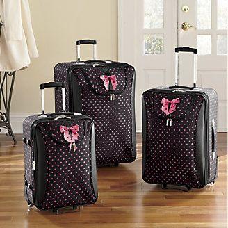 51992f73e8e1 Girly Luggage Set   Light Luggage