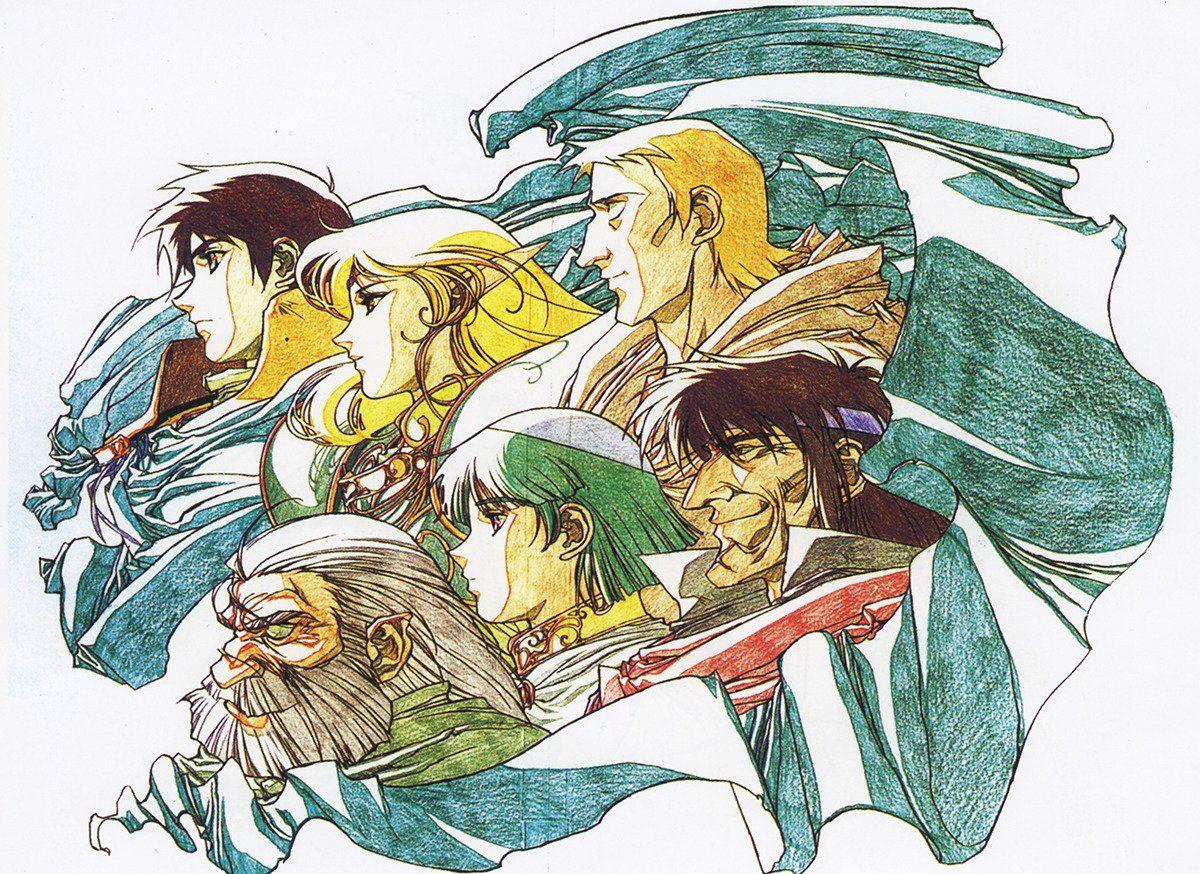 Pin by darryl reyes on record of lodoss war anime art