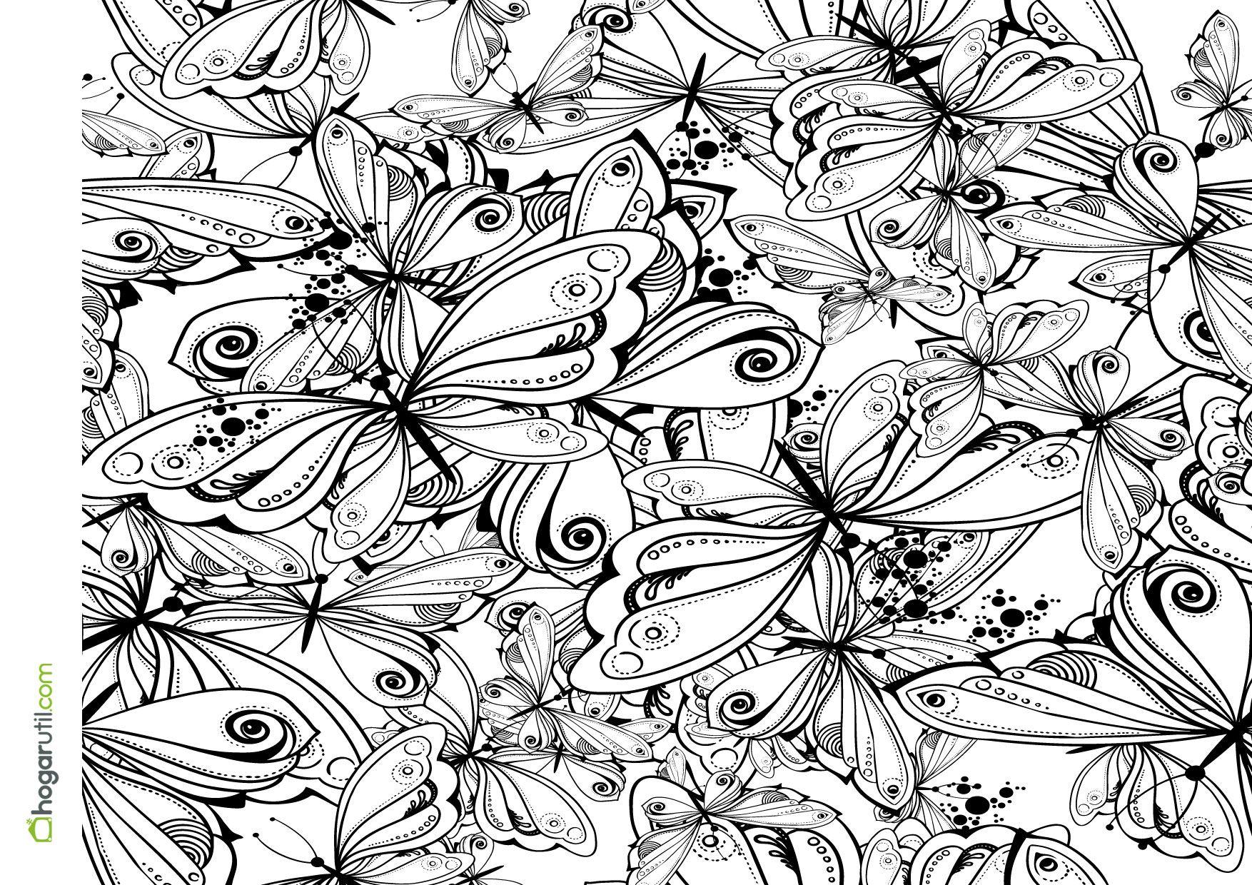 colorear-adultos-06.jpg (1754×1240)   Coloring Pages   Pinterest ...