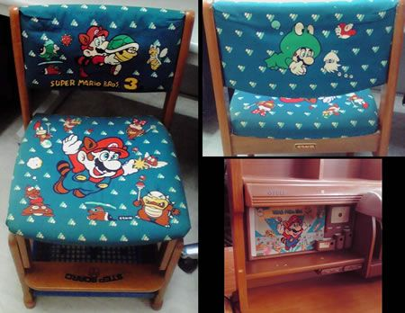 Mario Chair And Desk