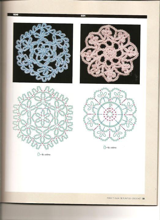 Para Ti Guia de Puntos Crochet 6 - Poii Abalorios - Picasa Web Albums