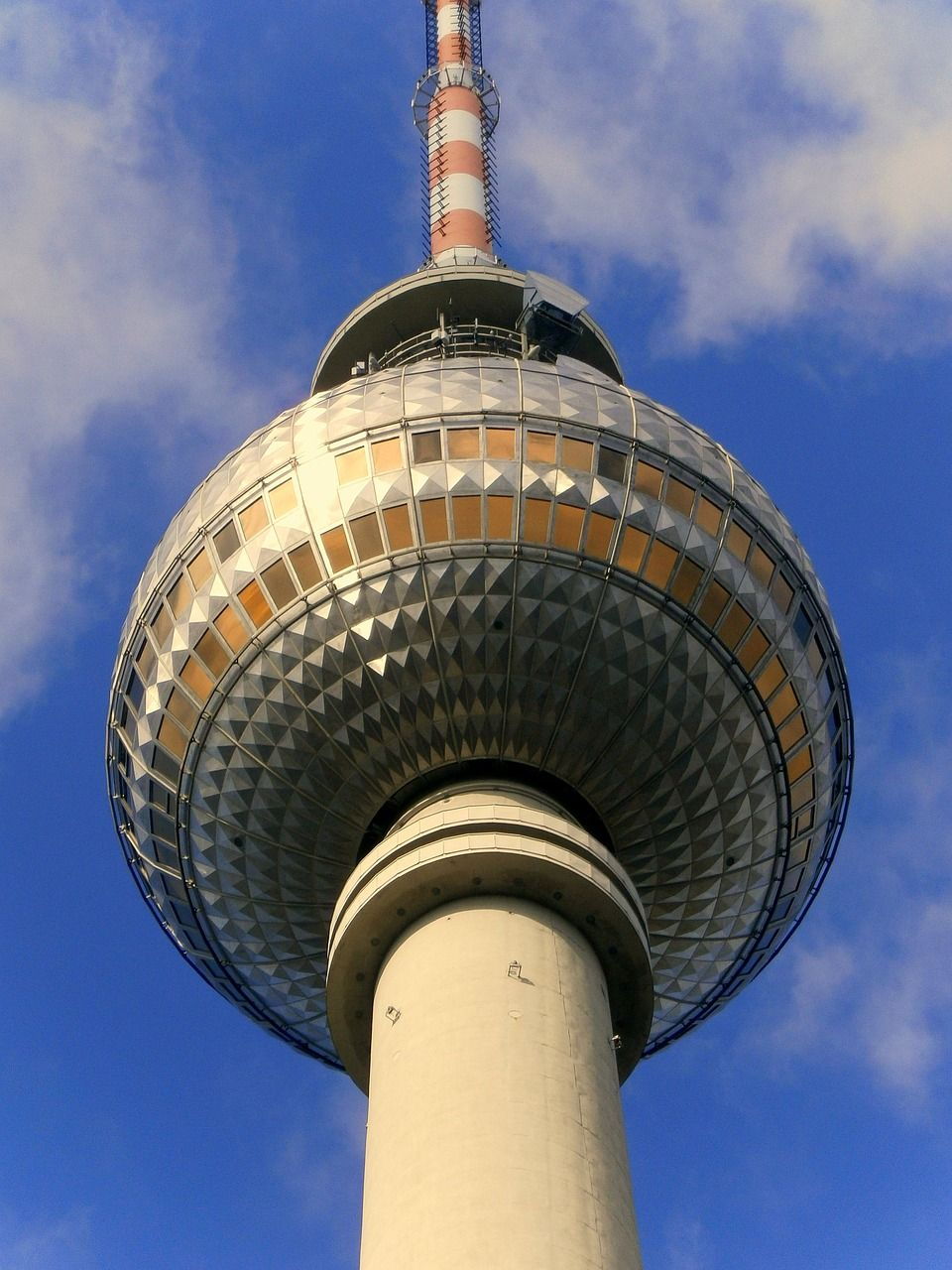 Germany Tower Tv Tower Berlin Alexanderplatz Germany Tower Tvtower Berlin Alexanderplatz Europe Continent Germany Travel Germany