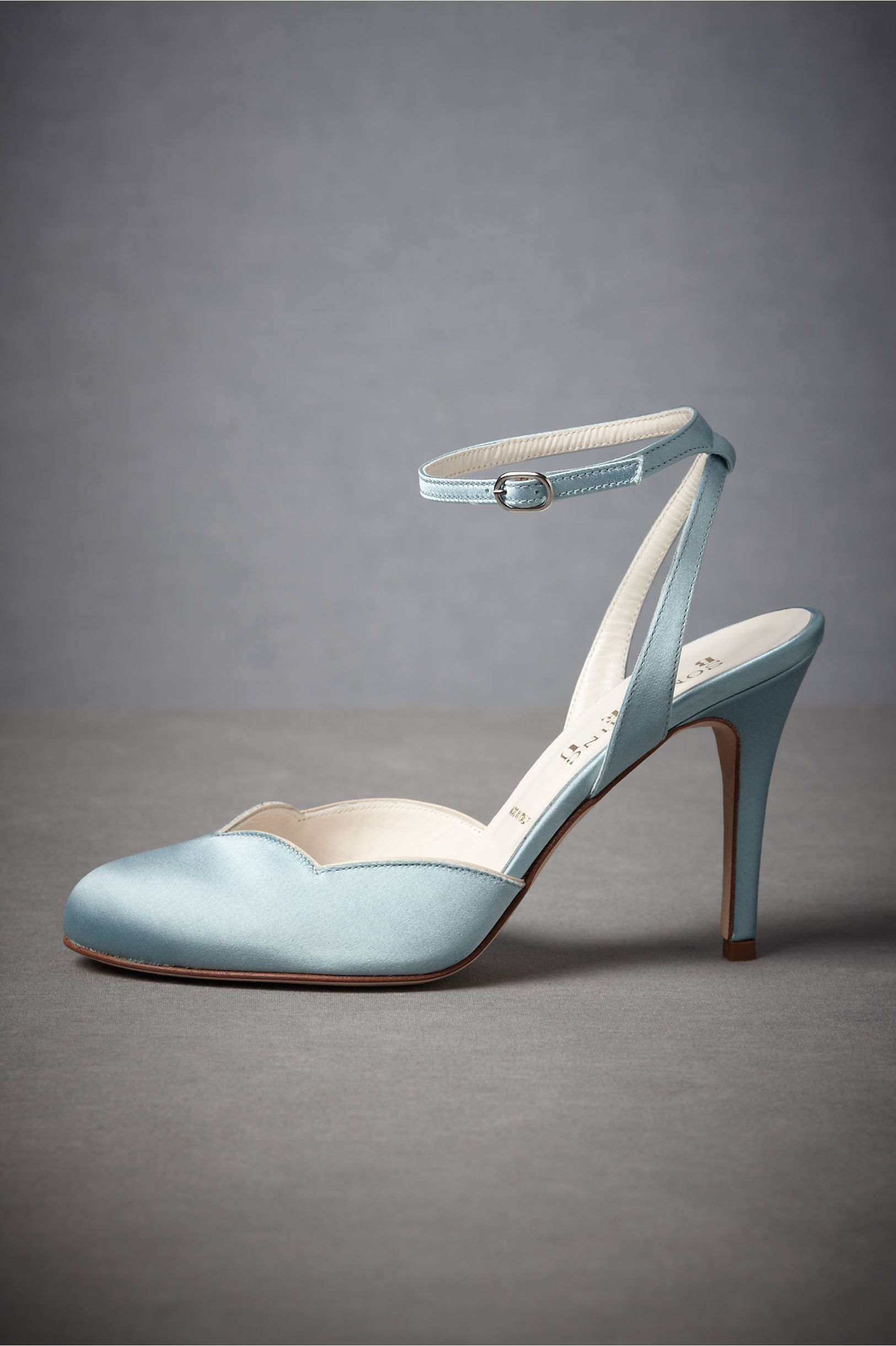 Samantha dress slingbacks baby blue and unique shoes