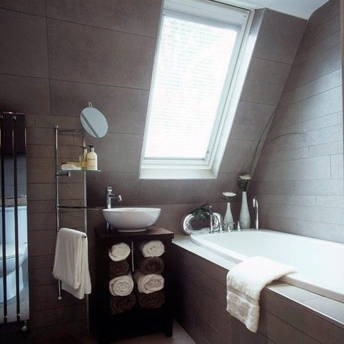 designed-for-life:    Attic Bathroom