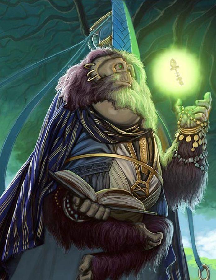Artist: Unknown - Title: Unknown - Card: Almighty Sage | Monster artwork,  Artwork, Artist